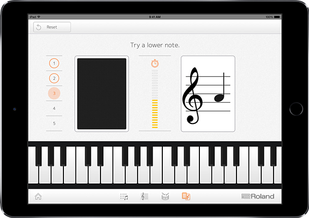 tablet piano app