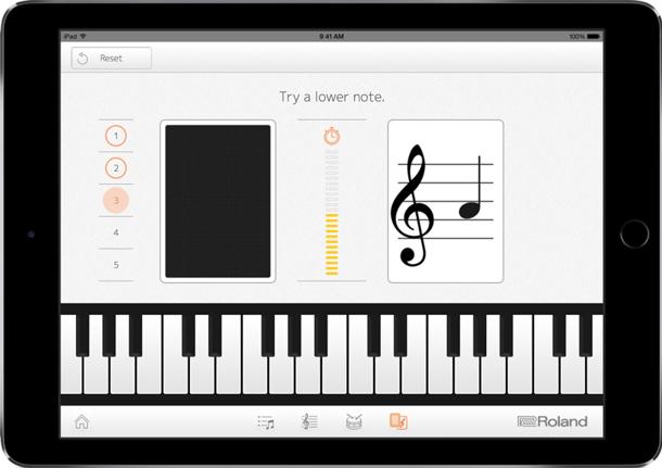 tablet piano app